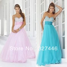 sweet 16 fresh look free shipping high quality long cute light pink blue homecoming dresses 2013 crystals and rhinestones $79.00