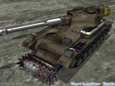 Yuri Lasher Tank by ~bobjoe275 on deviantART