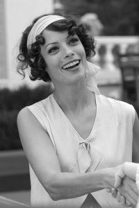 "Berenice Bejo as Peppy Miller in ""The Artist"" - Best New Hair Styles Haircut For Thick Hair, Short Curly Hair, Short Hair Cuts, Curly Hair Styles, Curly Bob, Dicker Pony, The Artist Movie, 1920s Hair, Flapper Hair"