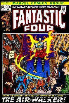Fantastic Four #120. The Airwalker. #FantasticFour #Airwalker