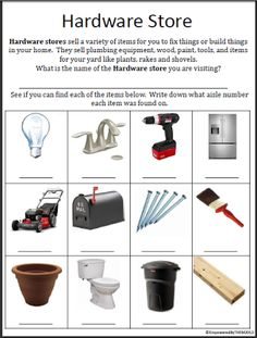 3 Community Based Outing Worksheets