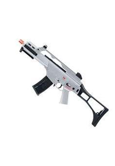 Heckler and Koch Clear G36C AEG Airsoft Gun ! Buy Now at gorillasurplus.com Find our speedloader now!  http://www.amazon.com/shops/raeind