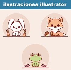 Crear fácilmente animales Kawaii con adobe illustrator