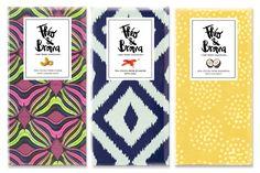 Chocolate packaging: Theo & Broma designed by Amanda Girod