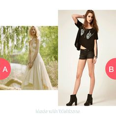 Which outfit do you like Click here to vote @ http://getwishboneapp.com/share/2117574