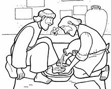 Coloring Pages Telling The Story From Last Supper To Jesus Death On Cross