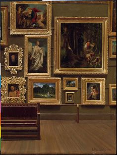 Museum of Fine Arts in the earliest days. Enrico Meneghelli, The Picture Gallery in the Old Museum, Museum Of Fine Arts, Art Museum, Museum Art Gallery, You Are My Moon, Art Et Architecture, Art Hoe, Aesthetic Art, Brown Aesthetic, Aesthetic Pictures