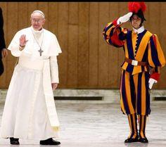 Guardia Svizzera Pontificia #Pope #Francesco #PapaFrancesco