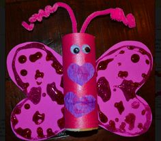Valentine's Day crafts from recycled materials
