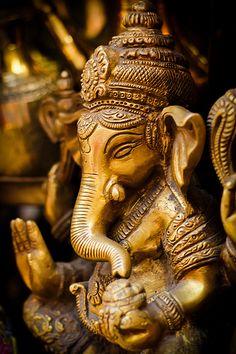 Ganesh - Ganesha - o elefante divindade montando um rato - tornou-se uma das mais comuns mnemônicos para qualquer coisa associada com o hinduísmo. Isto não só sugere a importância de Ganesha, mas também mostra como popular e difundida esta divindade está nas mentes das massas.