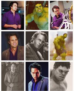 Just occurred to me - i have never watched the Hulk movie ----Hulk, Mark Ruffalo