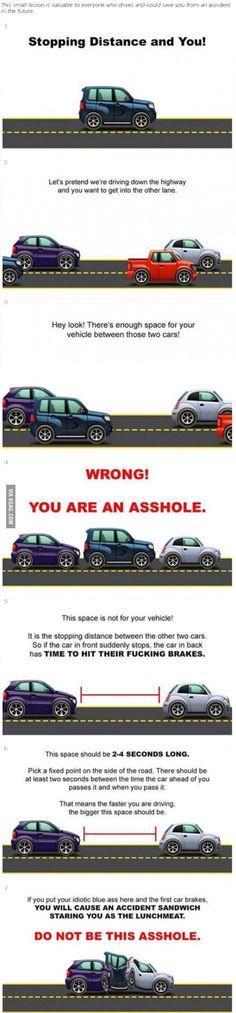Traffic Tip...