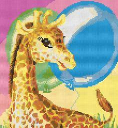 Cross Stitch | Giraffe xstitch Chart | Design