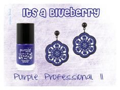 """It's a BlueBerry"" by moon-blue ❤ liked on Polyvore featuring beauty"