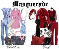 Masquerade - Christine Daae and Erik