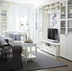 ikea hemnes shoe cabinet round mirror good for dark living room decor i adore pinterest. Black Bedroom Furniture Sets. Home Design Ideas