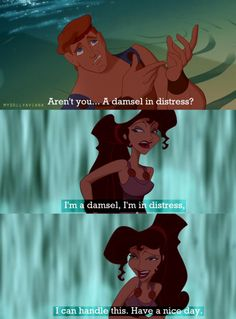 Meg will always be the Disney queen of sass