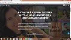 LIVROS DE ROMANCE  : Entrevista concedida a Eldes Saullo - Livros que v...