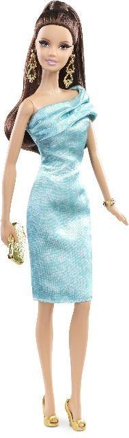 Barbie sběratelská kolekce Bruneta