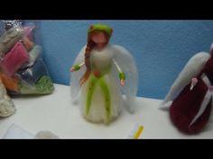 Tutorial Como Hacer Muñecas Con Lana Fieltrada - YouTube