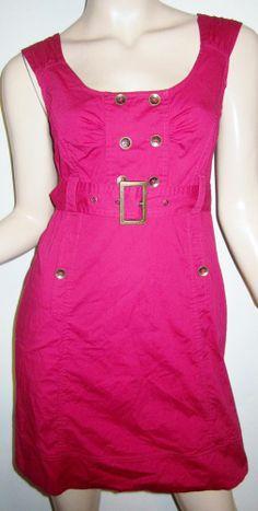 MAEVE Anthropologie Cotton Stretch Poplin Belted Trench Shift Dress 4...http://stores.shop.ebay.com/vintagefluxed
