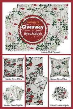giveaway-styles Check out LaCarteraDesigns.com on her Giveaway. Beautiful designs Beautiful items...enter to win