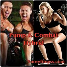 Les Mills PUMP Combat Hybrid Schedule