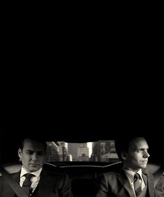 SUITS...Harvey and Mike