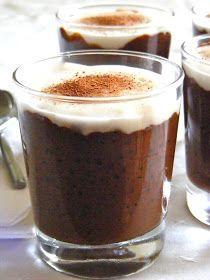 Organic Passion: Chocolate sago pudding with coconut custard