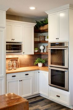 design ideas and practical uses for corner kitchen cabinets rh pinterest com
