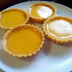 Resep Pie Susu / Egg Tart