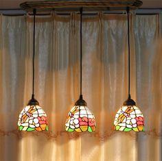 74.00$  Watch here - http://aliant.worldwells.pw/go.php?t=32639848806 - European Vintage Tiffany Pendant Light American Minimalist Rose Tiffany Lamp Living Room Dinning Room Dragonfly Pendant Lamps 74.00$