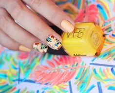 Tropical nails Totes by Picture Polish - Love this!