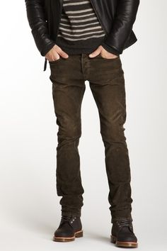 Vince 5 Pocket Pant in Fatigue