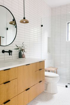 Our Austin Casa    The Terrazzo Guest Bathroom Reveal - The Effortless Chic