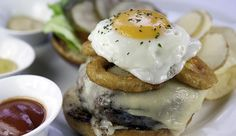 The Wagyu Cheeseburger de The Capital Grille
