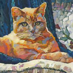 Louisiana Edgewood Art Paintings by Louisiana artist Karen Mathison Schmidt: Annie! (but not the musical)
