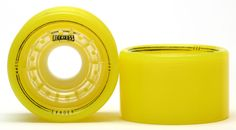 GRN MNSTR Reckless Evader yellow- SET OF 4  - 88A - 59*38