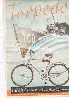 Torpedo Sportrad Prospekt 1939
