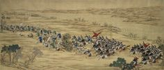 An Imperial Battle Painting from the Set of Seventeen Paintings Commemorating…