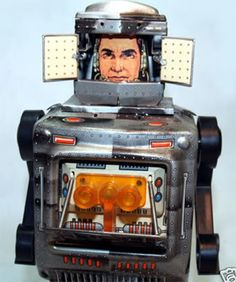 1950's 1960's Vintage Space Astronaut Robot Ray Guns Collectables. This has to be the Ken doll of vintage space astronauts.. those eyes...