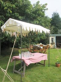 Vintage Marquee Hire - Market Stall