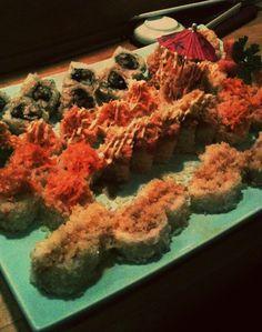 Various Sushi Rolls at Nakato- Springfield, MO