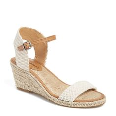 Lucky Brand Wedges 'Katereena' wedge sandal - worn twice Lucky Brand Shoes Wedges