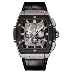 "One of the great new pieces announced for the start of 2014: Hublot unveils a BIG BANG with a tonneau case It is the aptly named ""Spirit of Big Bang"" (Video) HUBLOT Spirit of Big bang (See more at En/Fr/Es: http://watchmobile7.com/articles/hublot-spirit-big-bang) (4/9) #watches #hublot #hublotwatches @Hublot Watches"