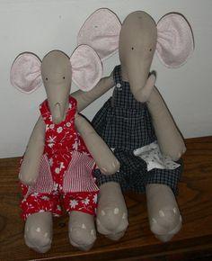 Tilda dolls: elephant 1 of  4
