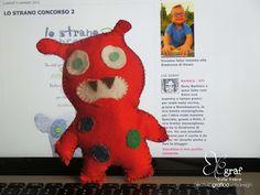 Il mostrillo del computer Felt Dolls, Computer, Puppets, Dinosaur Stuffed Animal, Manga, Toys, Animals, Activity Toys, Animales