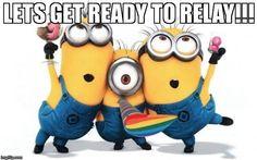 Let's get ready to RELAY!!! #relayforlife
