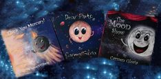 Kid Astronomy Book Series by Carmen Gloria Pérez Solar System, Children's Books, Book Series, Astronomy, Illustrations, Poster, Kids, Art, Young Children
