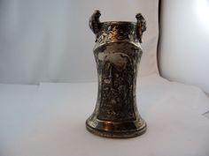 Jugendstil Vase versilbert?